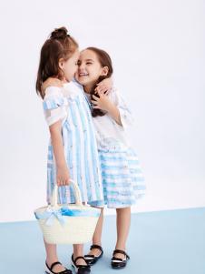 T100童装2017年春夏连衣裙