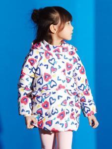 妈咪之星婴童装爱心印花棉衣