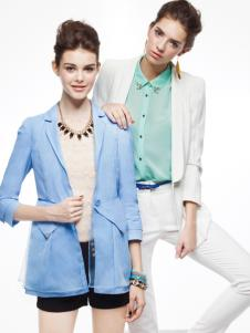 薇妮兰天蓝色春夏外套