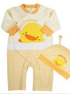 黄色小鸭内衣