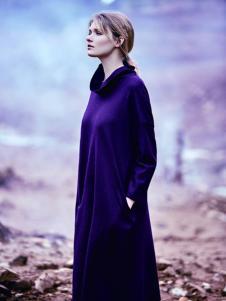 JESSIE杰西女装紫色长裙