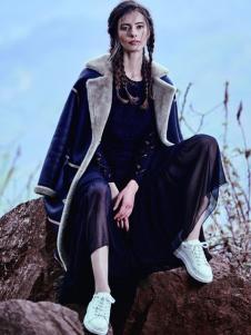 JESSIE杰西女装毛绒棉外套