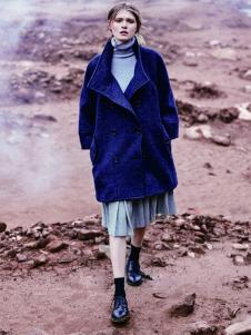 JESSIE杰西女装廓形大衣