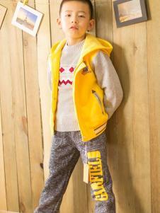 加菲猫黄色外套