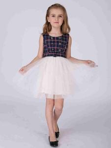 加菲貓童裝連衣裙