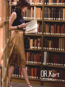 OR.Kart解构 女装新品褶裙