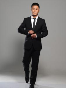 莎斯莱思男装黑色西装套装