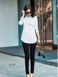 艾米白色时尚 衬衫