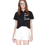 例格女装 T恤搭配尽显清凉look