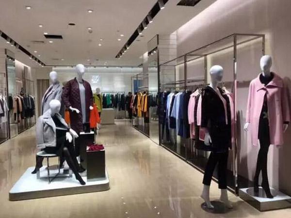 JZ玖姿品牌女装实体终端展示品牌旗舰店店面