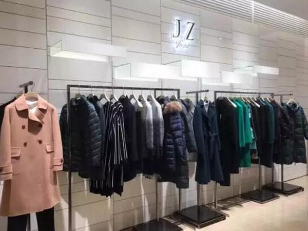 JZ玖姿女装品牌终端实体展示品牌旗舰店店面