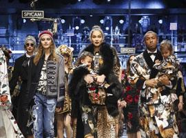 2017秋冬米兰时装周:杜嘉班纳Dolce&Gabbana大秀