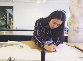 魅力东方中国国际内衣创意设计大赛进入打版阶段