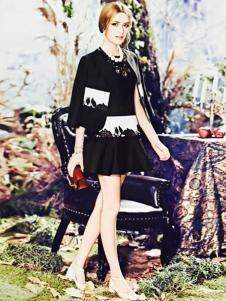 卡熙名品女装黑色套装