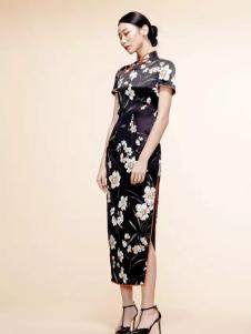 花禅旗袍女装新款