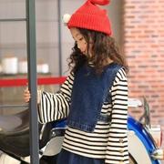 酷小鸭童装春日时尚搭配 条纹的青春可爱时髦