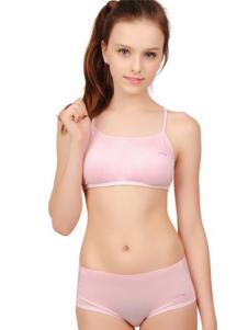 可娃衣内衣粉色吊带抹胸