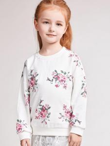 酷芭蒂童装印花卫衣