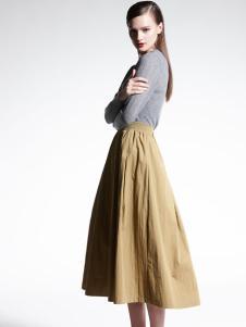 适时雅集新款文艺时尚套装裙