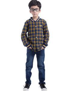 CociCoki可趣可奇童装格纹外套