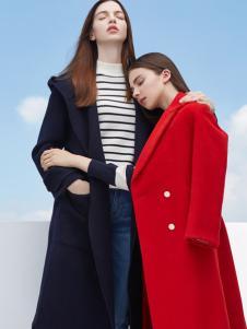 LWEST朗文斯汀女装红色西装领外套