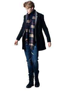 蓝古威-睿浅色牛仔裤