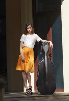 DILUNNUNA帝伦奴那2017年春夏新品白色棉麻上衣+橙色棉麻休闲褶皱裙