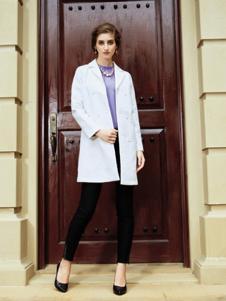 莎斯莱思2017春季白色外套