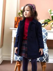 蓝蚁迪堡童装宝蓝色外套