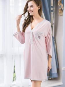 浪漫季节纯棉睡裙