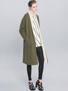 例外女装双面尼大衣