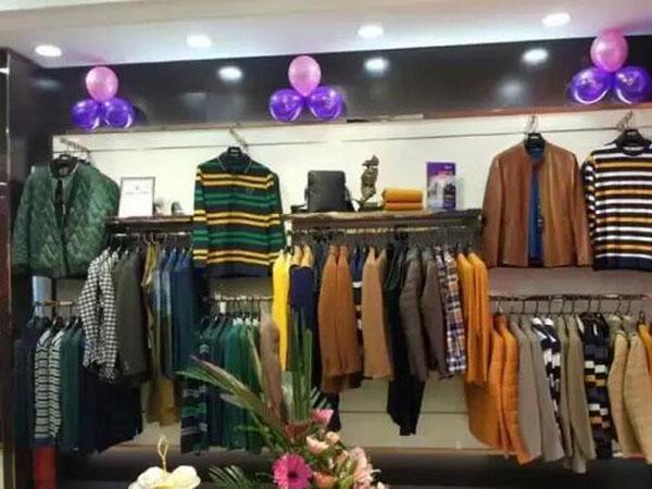 马思图时尚男装终端店品牌旗舰店店面