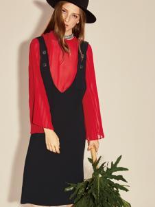 西蔻17春夏新款摩登时尚两件套