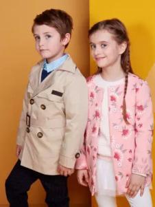 马可乐童装新品印花外套