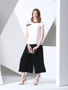 凯伦诗黑白时尚服饰新款