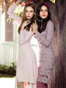 MAXTINA玛仙娜女装蕾丝裙