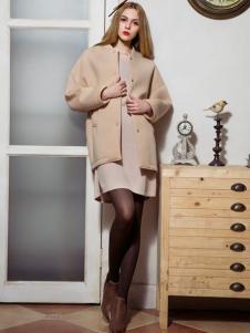 MAXTINA玛仙娜女装圆领外套