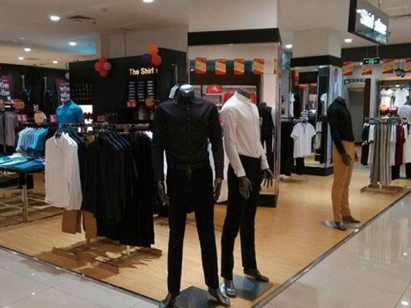 曼维尔衬衣店SS实体店品牌旗舰店店面