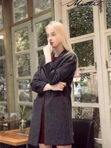 Mistic米丝迪可女装灰色大衣