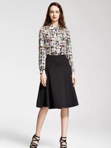 MAAMCHEE缦秋女装印花衬衫