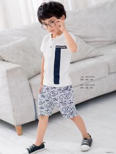 西瓜王子男童印花短裤