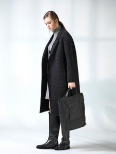 ANMIAO三淼女装长款廓形大衣