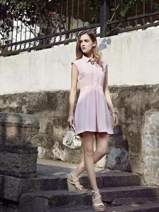 米拉格女装衬衫领连衣裙