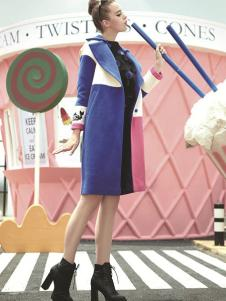 美丽衣橱女装美丽衣橱女装大翻领外套