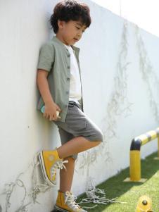米雅星童装短袖衬衫