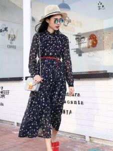 Mn·bf曼诺·比菲2017春夏新品雪纺裙