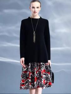 米珂拉女装MIK&LA米珂拉2017春夏新品针织裙装