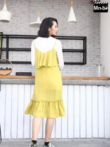Mn·bf曼诺·比菲2017春夏新品吊带鱼尾裙