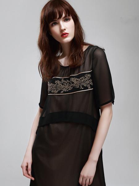 eddaDior迪奥夏新款黑色连衣裙