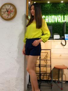 淑女日记2017女装短裤